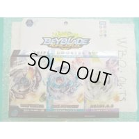 TakaraTomy Beyblade Burst B-57 Triple Booster Set