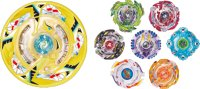 TakaraTomy Beyblade Burst B-87 Random Booster Vol.7 (Full Set)
