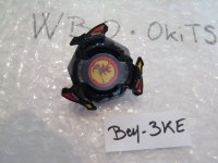 "TAKARA Beyblade Knight Dranzer ""Black Version"" ( Bey - 3KE )  Fukubako 2000 Booster"