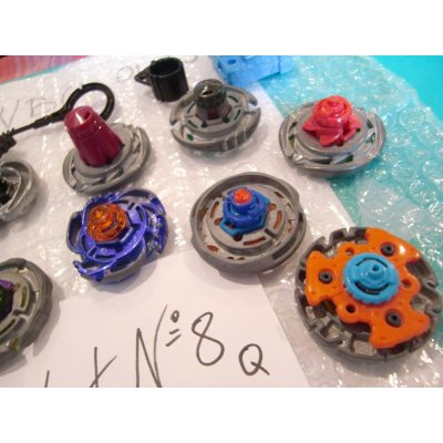 Photo4: Metal Fight Beyblae Lot of 10 Beyblades : Lot No.8Q