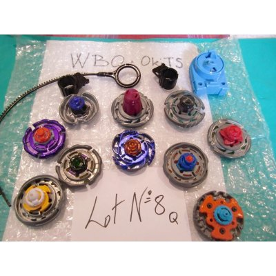 Photo2: Metal Fight Beyblae Lot of 10 Beyblades : Lot No.8Q