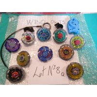 Metal Fight Beyblae Lot of 10 Beyblades : Lot No.8Q