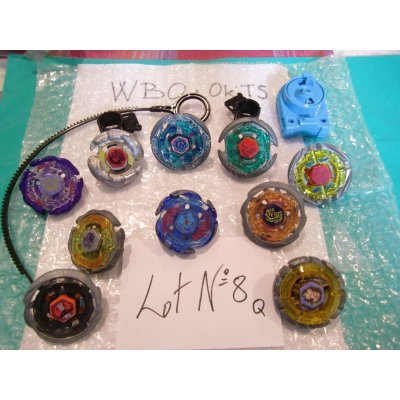 Photo1: Metal Fight Beyblae Lot of 10 Beyblades : Lot No.8Q