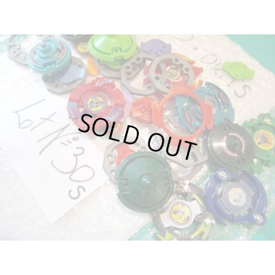 Photo3: Lot of Beyblades Parts : Lot No.30S