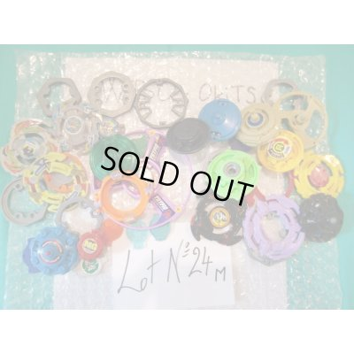 Photo1: Lot of Beyblades Parts : Lot No.24M