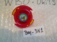 """Beyblade Galeon """"Red Ver."""" ( Bey - 3N1 )"""
