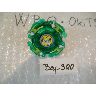 "Photo1: TAKARA Beyblade Galman ""Green Clear Ver."" ( Bey - 3QO )"