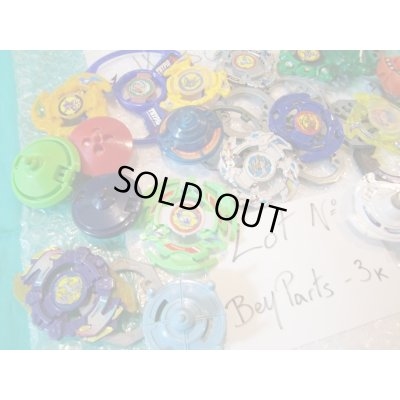 Photo2: Lot of Beyblades Parts : Lot No. Bey Parts - 3K
