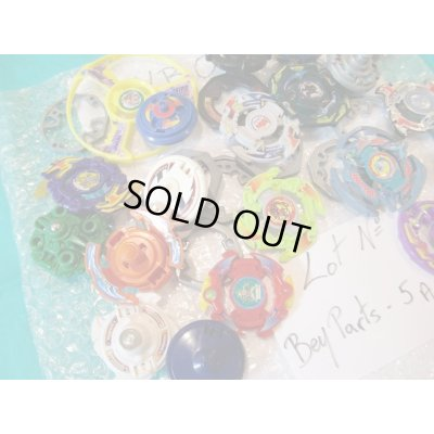 Photo2: Lot of Beyblades Parts : Lot No. Bey Parts - 5A