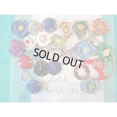 Photo1: Lot of Beyblades Parts : Lot No. Bey Parts - 2T