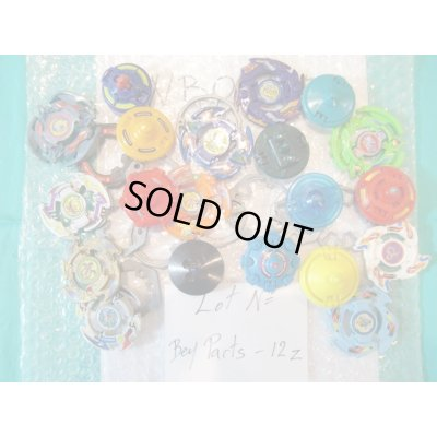 Photo1: Lot of Beyblades Parts : Lot No. Bey Parts - 12Z