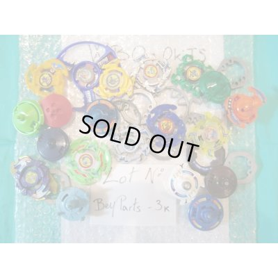 Photo1: Lot of Beyblades Parts : Lot No. Bey Parts - 3K
